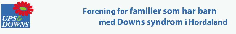 Ups And Downs' logo med blomst og tekst
